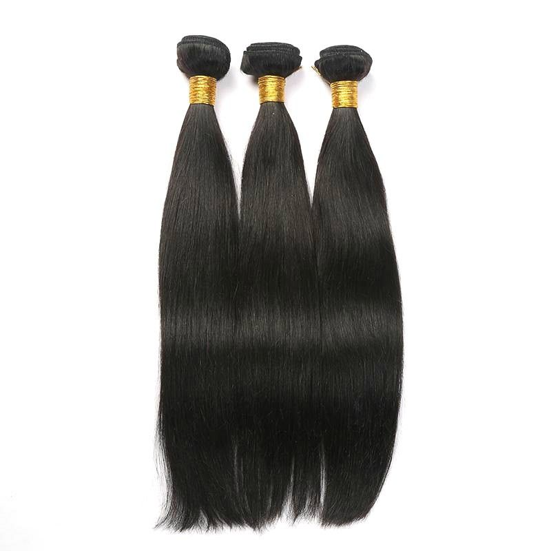 SGS Remy Indian Human Hair Weave Soft And Comfortable For Women Extensions